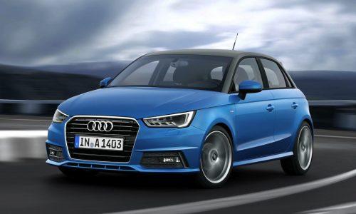 2015 Audi A1 & A1 Sportback revealed, new 3-cyl engines