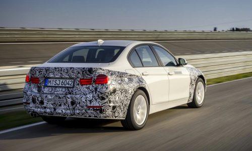 BMW 3 Series plug-in hybrid prototype previews future powertrain