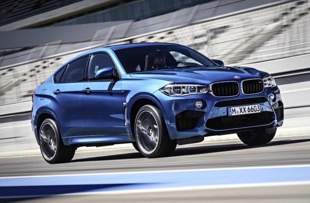 2015-BMW-X6-M on track