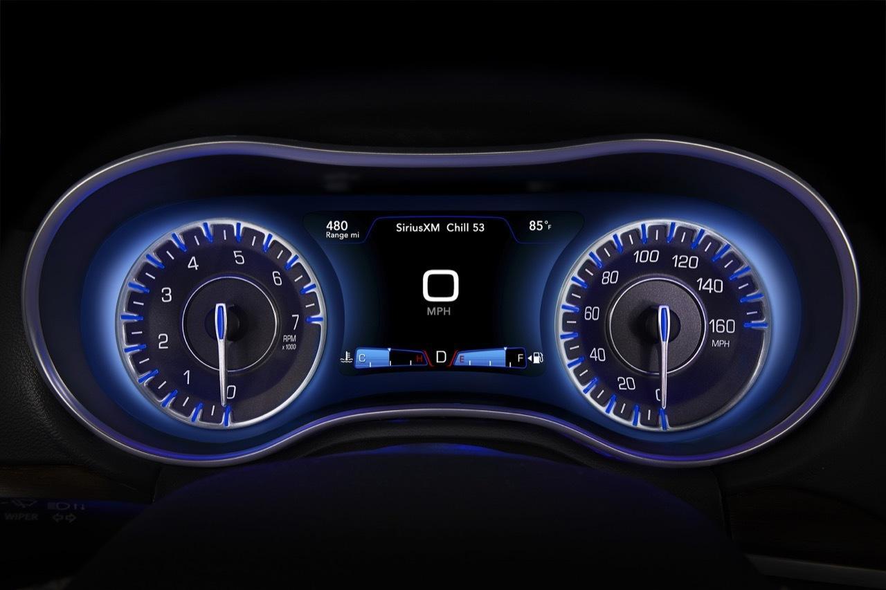 Chrysler Lcd Instrument Cluster