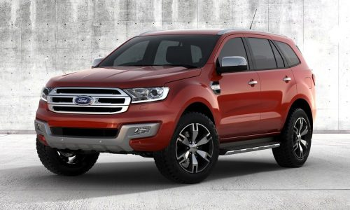 2015 Ford Everest revealed, to be best 7-seat SUV on sale
