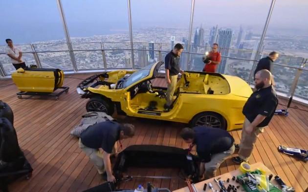 2015 Ford Mustang Burj Khalifa