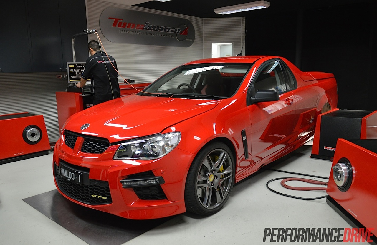 2015 HSV GTS Maloo makes 368kW at the wheels (video