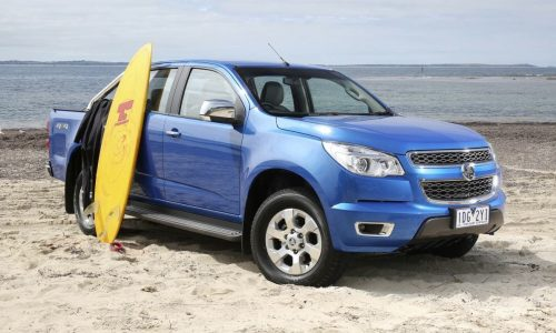 2015 Holden Colorado on sale in Australia from $28,390