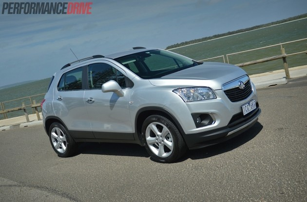 2015 Holden Trax LTZ-Nitrate silver