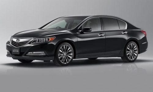 2015 Honda Legend revealed, gets 281kW hybrid