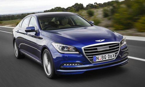 2015 Hyundai Genesis on sale in Australia from $60,000