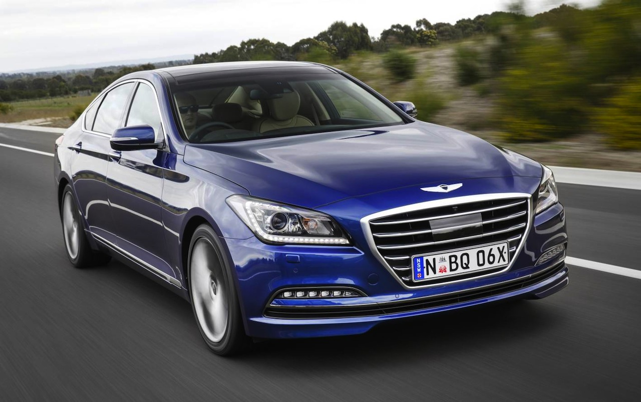 2015 Hyundai Genesis On Sale In Australia From $60,000