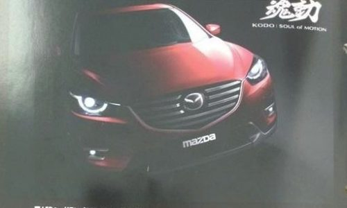 2015 Mazda CX-5 images surface before LA debut
