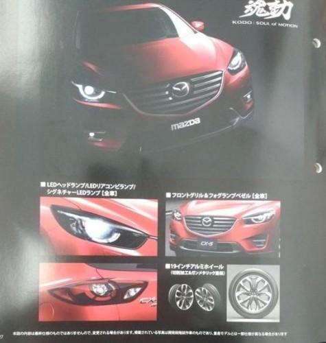 2015 Mazda CX-5 leaked