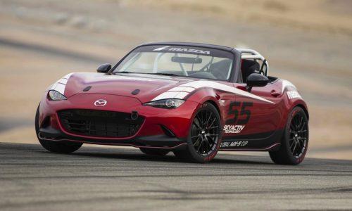 2016 Mazda Global MX-5 Cup car revealed