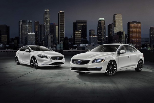 2015 Volvo S60 and V40 Sprint Edition