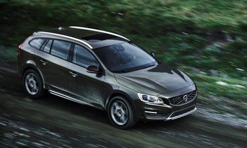 2015 Volvo V60 Cross Country revealed ahead LA debut