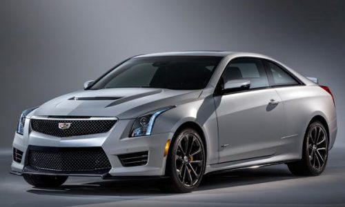 2016 Cadillac ATS-V revealed in leaked images