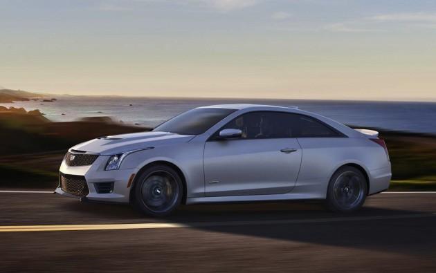 2016 Cadillac ATS-V-driving