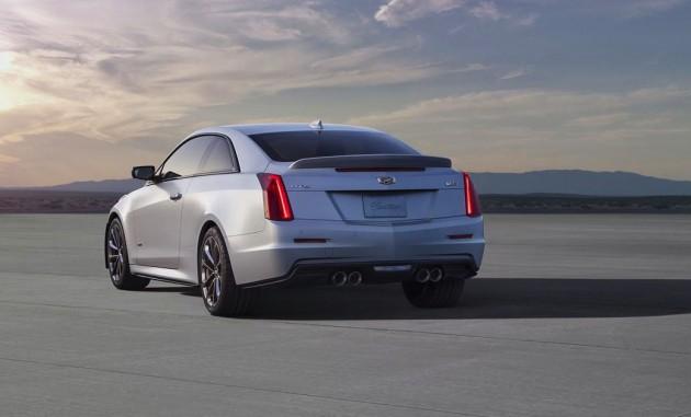 2016 Cadillac ATS-V-exhaust