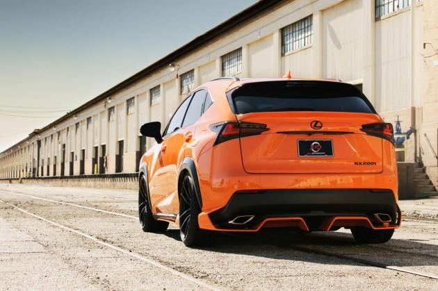 360 Elite Motorworks Lexus NX 200t-rear diffuser
