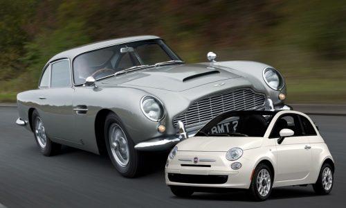 James Bond substitutes iconic Aston Martin DB5 with Fiat 500