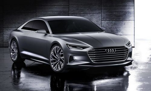Audi Prologue concept reveals Audi's new design direction