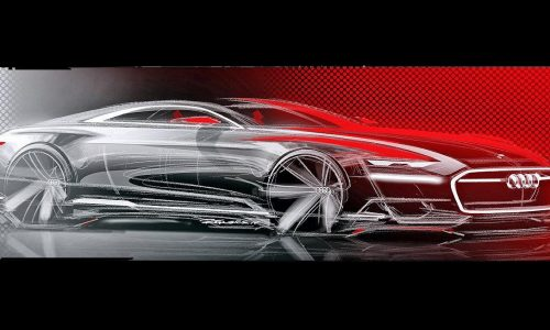 Audi Prologue concept sketches leaked, previews A9