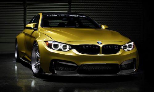 BMW M4 GTRS4 Vorsteiner set for SEMA debut