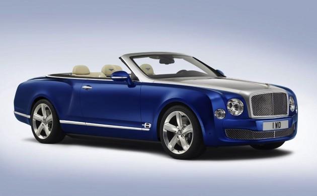 Bentley Grand Convertible concept exterior