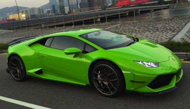 DMC Lamborghini Huracan bodykit