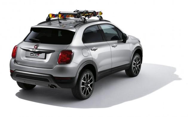 Fiat 500X Mopar accessories
