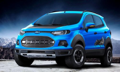 Three Ford EcoSport concepts revealed at Sao Paulo show