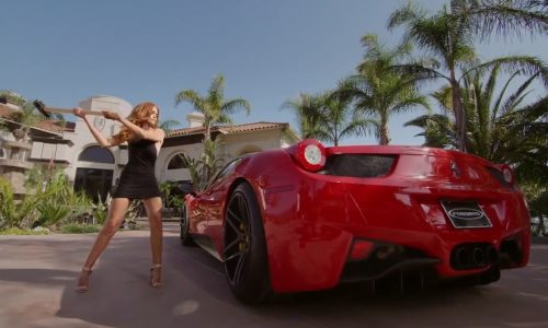 Ferrari 458 ruined by angry girlfriend in Forgiato ad (video)