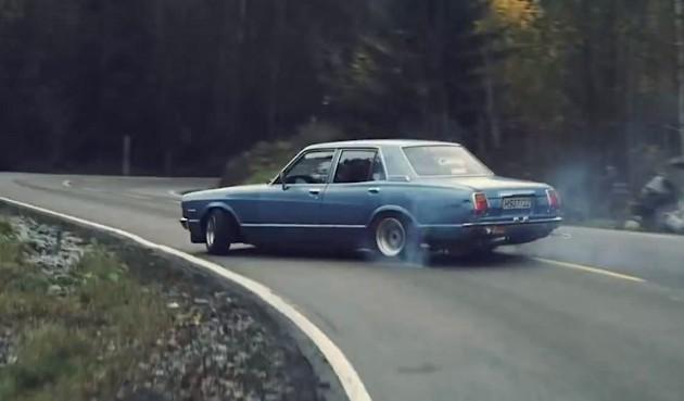 Fredrik Toyota Cressida drift
