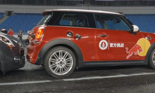 Video: New world record tightest parallel park set in China