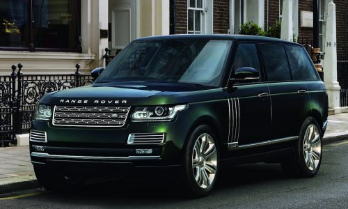 Holland & Holland Range Rover comes with shotgun holsters