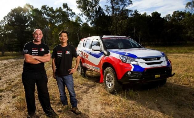 Isuzu MU-X Dakar-Adrian and Harry