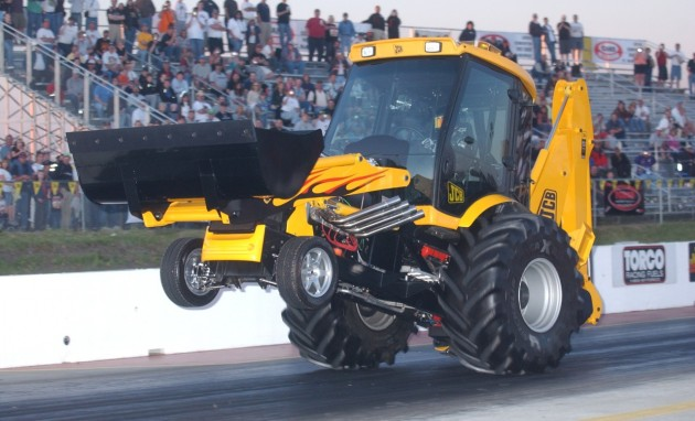 JCB GT wheelie