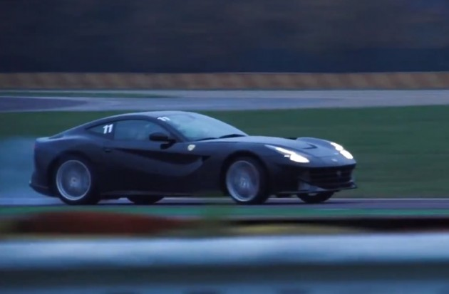 Kimi Raikkonen Ferrari F12