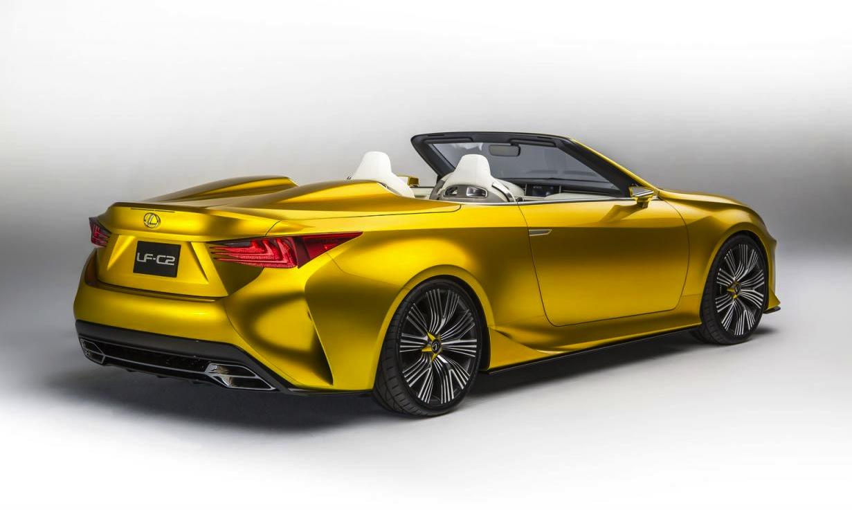 Lexus Lf C2 Concept Revealed Previews Rc F Convertible