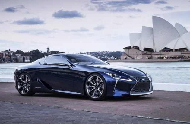 Lexus LF-LC concept-Australia