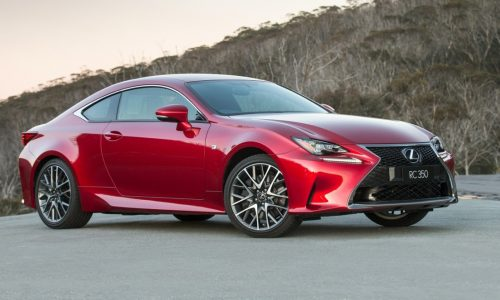 Lexus RC 350 coupe now on sale in Australia from $66,000