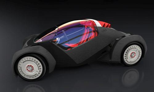 Local Motors assembles 3D-printed Strati EV live at SEMA