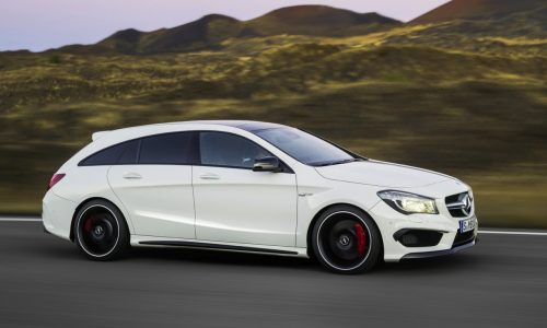 Mercedes-Benz CLA & CLA 45 AMG Shooting Brake revealed