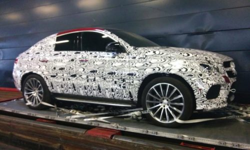 Mercedes-Benz MLC AMG prototype spotted in France