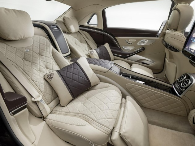 Mercedes-Maybach S-Class seat cushion