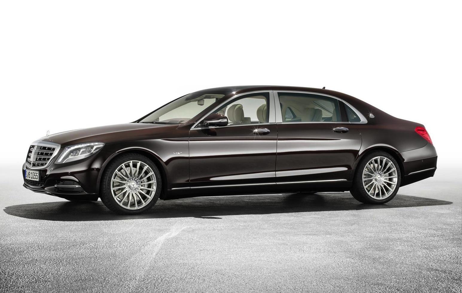 Mercedes-Maybach S-Class debuts at LA Auto Show