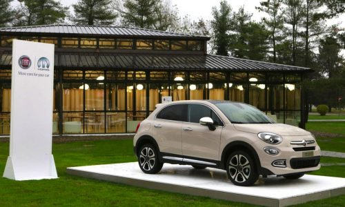 Mopar develops accessories for the new Fiat 500X