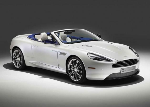 Q by Aston Martin DB9 Morning Frost