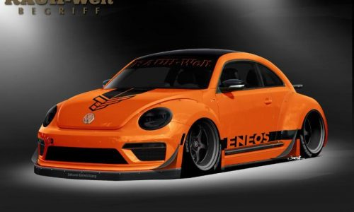 RAUH-Welt Begriff & Tanner Foust build a fat Volkswagen Beetle