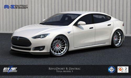 RevoZport R-Zentric aerokit developed for Tesla Model S