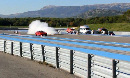 World record 333km/h rocket bicycle beats Ferrari 430 (video)