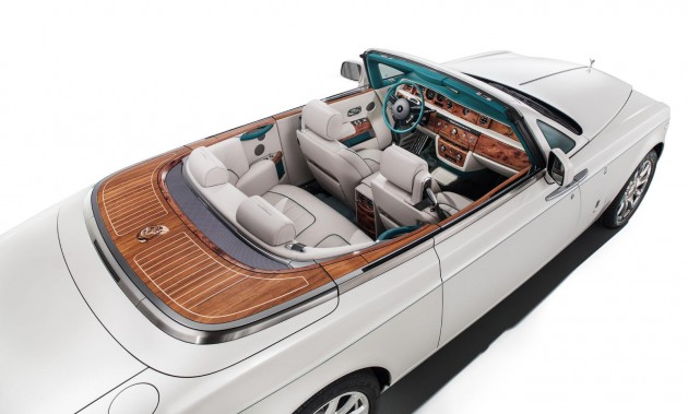 Rolls-Royce Maharaja Phantom Drophead-interior